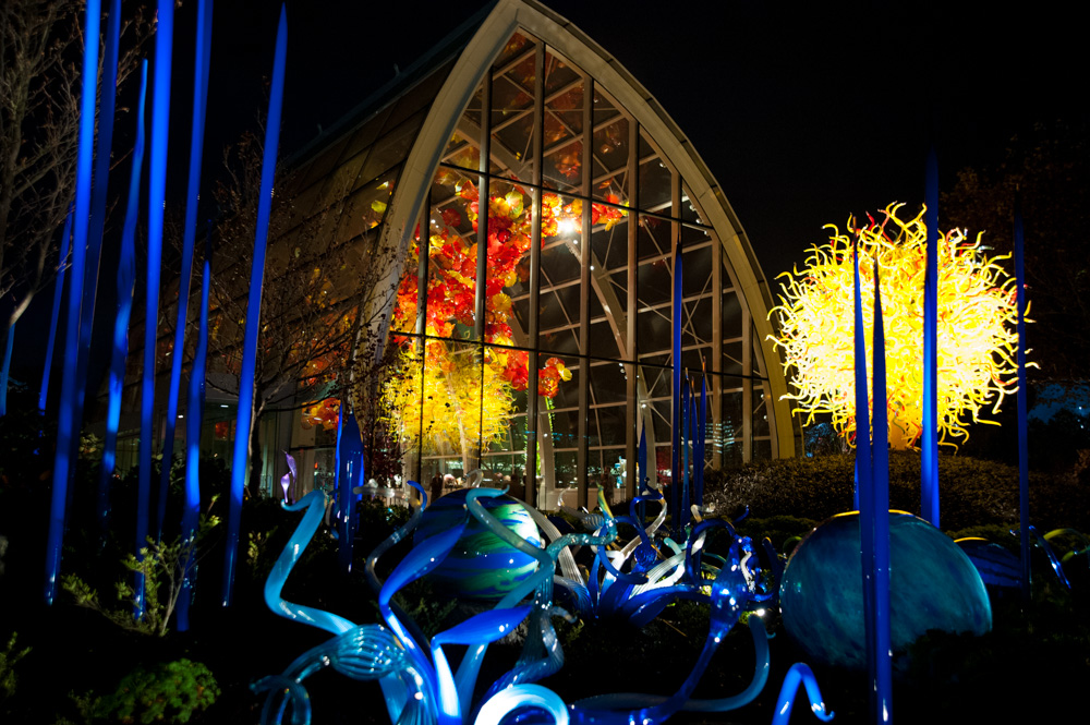 Chihuly glass house-1